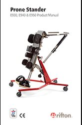 Rifton Prone Stander product manual