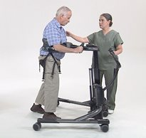 rifton tram sit to stand lift gait training