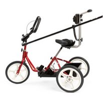 A Rifton adaptive tricycle, which can be reimbursed through Medicaid