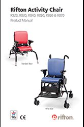 Rifton Activity Chair Product Manual