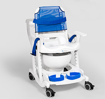 Rifton   Features of the Rifton HTS, a mobile shower chair ...