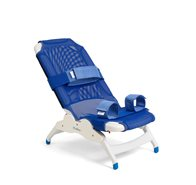 Rifton medium soft fabric blue wave bath chair